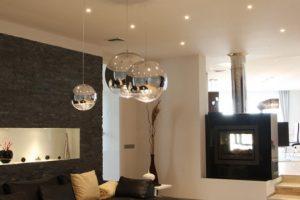 Osvětlení rodinného domu v Praze – Realizace